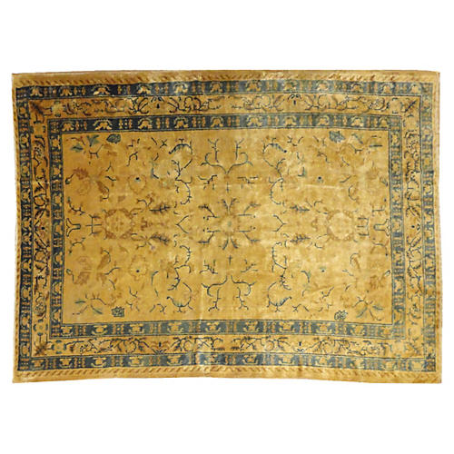 "Antique Chinese Rug, 8'3"" x 6'"