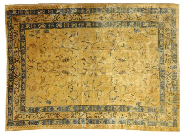 """Antique Chinese Rug, 8'3"""" x 6'"""