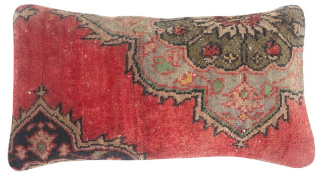 Red  Oushak          Pillow