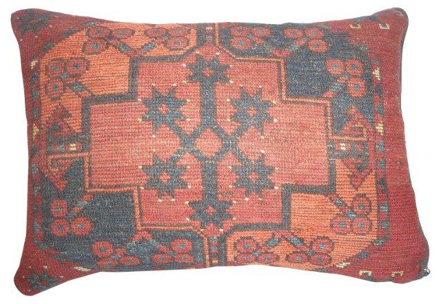 Pillow w/ Bokara Rug Fragment