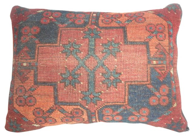 Pillow w/ Antique Rug       Fragment