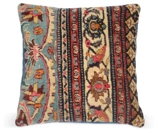 Pillow w/  Antique Rug      Fragment