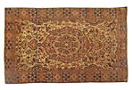 "Antique Malayer, 4'8"" x 3'2"""