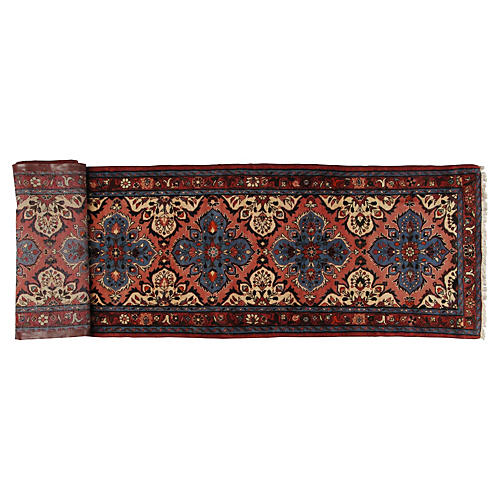 "Persian Tafresh Runner, 13'3"" x 2'9"""