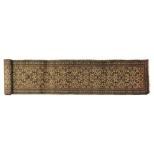 "Persian Malayer Runner, 16'6"" x 2'3"""