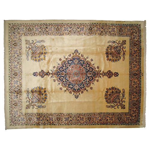 "Khorassan Carpet, 12'5"" x 9'7"""