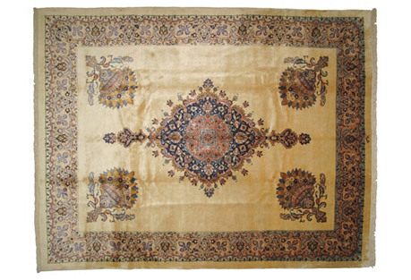 Khorassan Carpet, 12'5