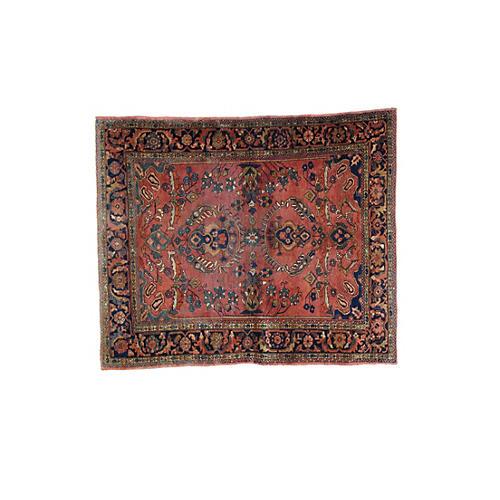 Antique Lillihan Rug, 6' x 5'