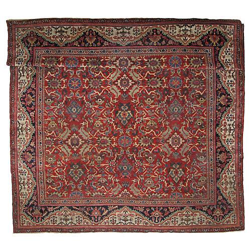 """Antique Mahal Carpet, 10'3"""" x 13'8"""""""