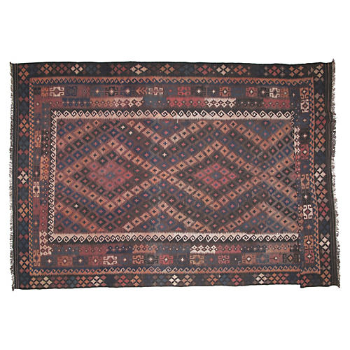 Antique Kilim, 8' x 13'8""