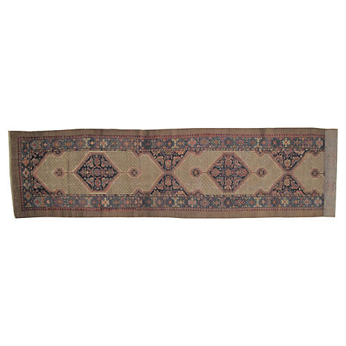 "Antique Sarab Runner, 16'7"" x 3'6"""