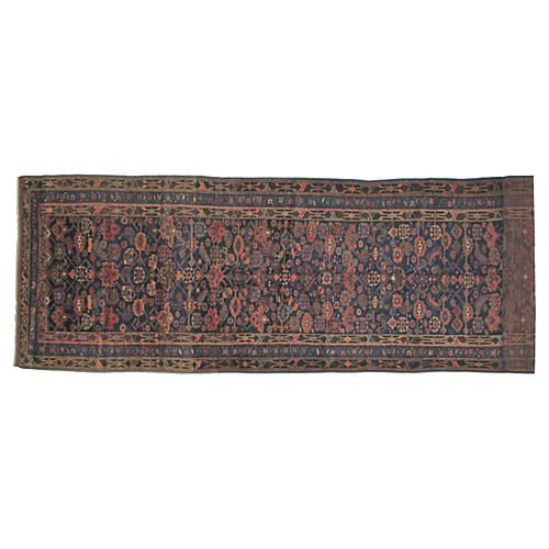 "Antique Persian Runner, 18'9"" x 4'4"""