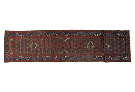 Antique Malayer Runner, 3'3