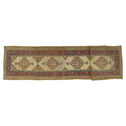 "Antique Sarab Runner, 3'5"" x 16'"