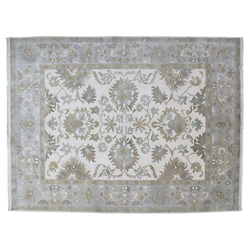 Oushak Carpet, 9' x 12'