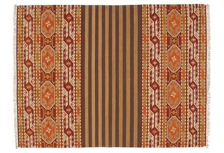Navajo-Style Kilim, 5'8