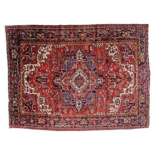 "Persian Heriz Rug, 9'8"" x 13'"