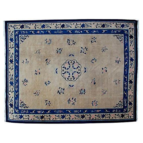 "Antique Chinese Carpet, 9'2"" x 11'10"""