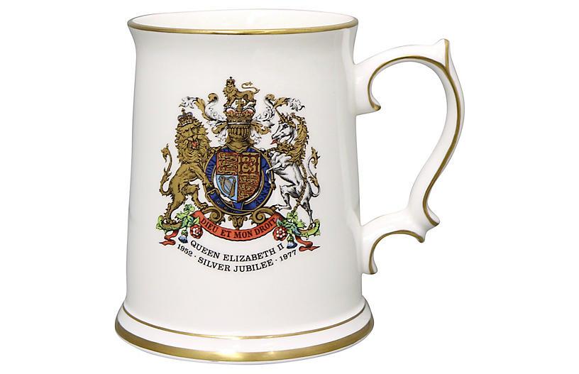Queen Elizabeth Silver Jubilee Tankard