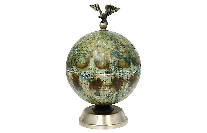Midcentury Globe Ice Bucket