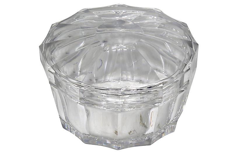 Baccarat Cut-Crystal Bon-Bon Dish