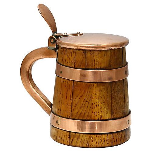 Copper-Banded Oak Ale Mug