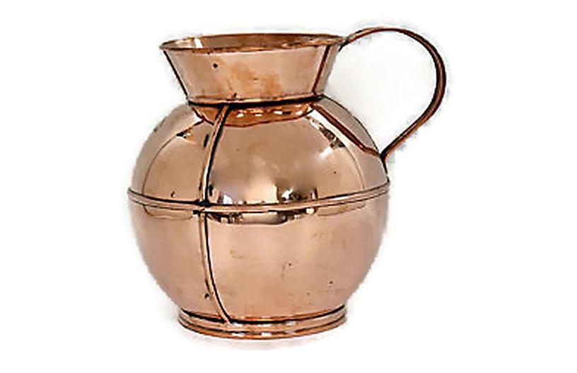 English Copper Wine Chiller
