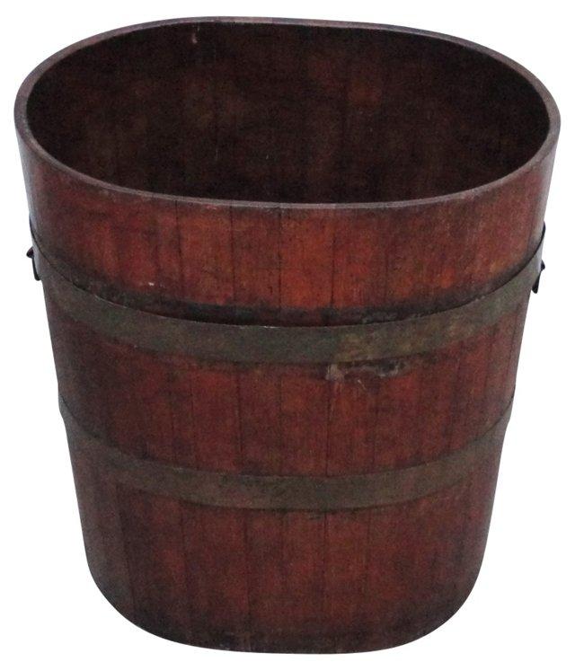 19th-C. General Store Barrel w/ Handles