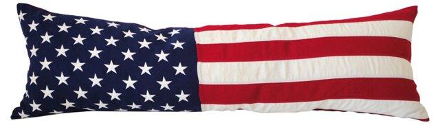 Patriotic  Bolster Pillow