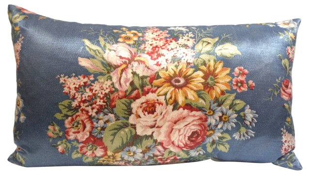 Polished Cotton Floral      Pillow