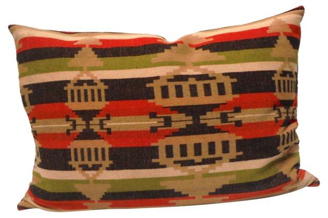 Pillow w/ Pendleton Blanket