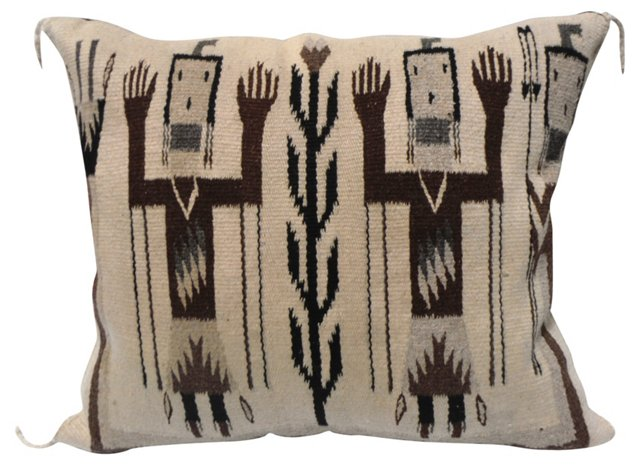 Navajo Yei Tribe Pillow
