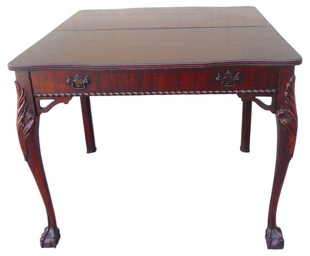 19th-C.   Mahogany Gaming Table