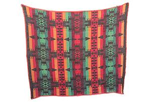 Early Cayuse Pendleton Indian Blanket