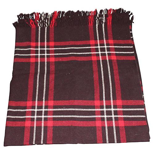 1940s English Handsewn Blanket