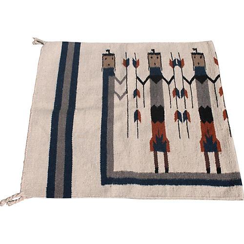 19th-C. Navajo-Style Arrows Weaving