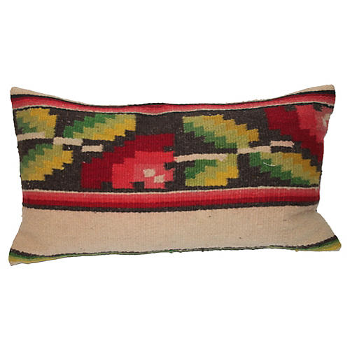 Mexican Floral Pattern Weaving Pillow