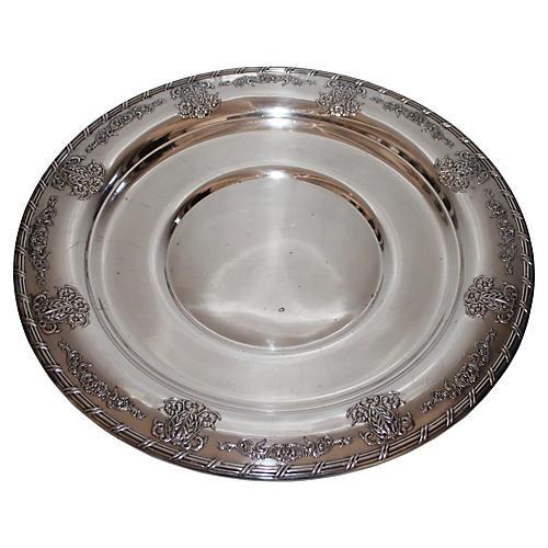 Midcentury Ardsley Tudor Plate Oneida