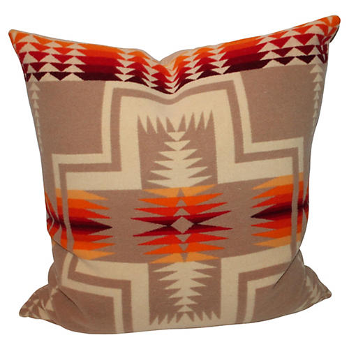 Early Pendleton Cayuse Camp Pillow