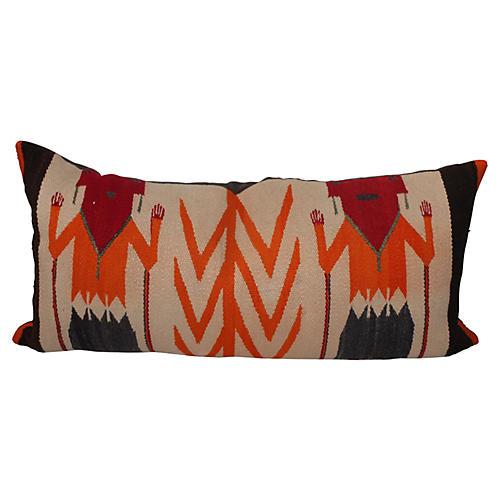 1930s Yei Weaving Pillow