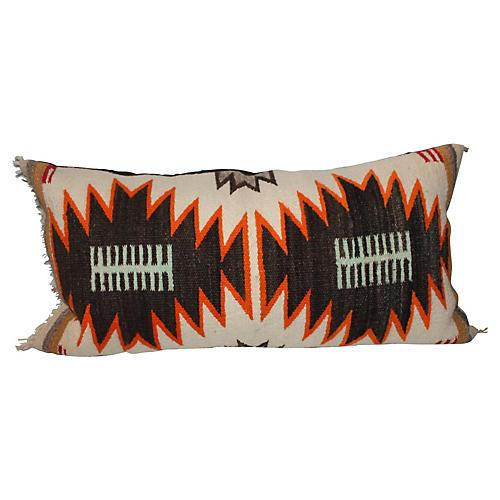 Navajo-Style Dazzler Bolster Pillow