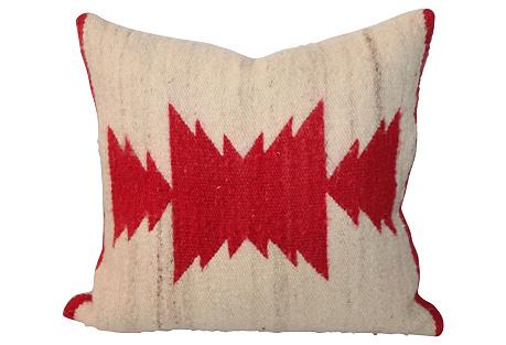 Navajo-Style Eye Dazzler Pillow