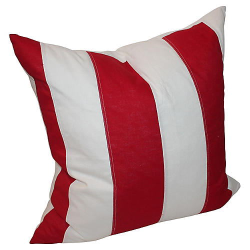 Striped American Pillow