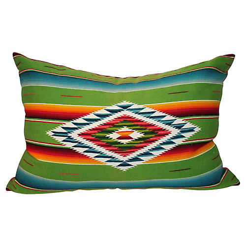 Serape Eye Dazzler Pillow