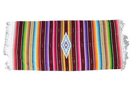 Serape Blanket w/ Long Fringe