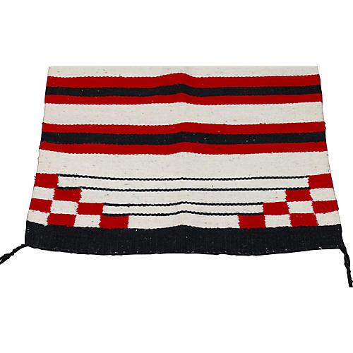 Navajo Weaving Saddle Blanket