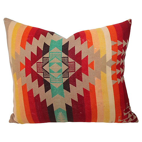 Cayuse Blanket Pillow