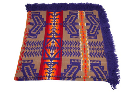 Midcentury Pendleton Camp Blanket