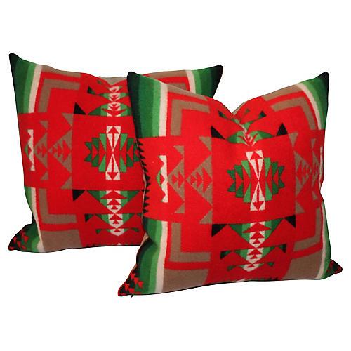 Pendleton Camp Pillows, Pair