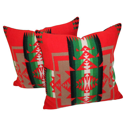 Pendleton Pillows, Pair